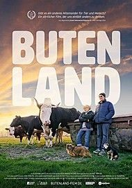 "Movie poster for ""BUTENLAND"""
