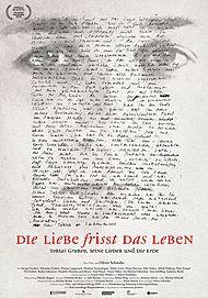 """Filmplakat für """"DIE LIEBE FRISST DAS LEBEN - TOBIAS GRUBEN, SEINE LIEDER UND DIE ERDE"""""""