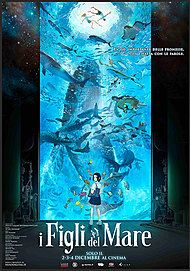 """Movie poster for """"CHILDREN OF THE SEA"""""""