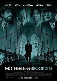 "Filmplakat für ""MOTHERLESS BROOKLYN"""