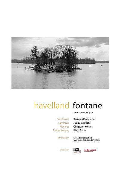 """Filmplakat für """"HAVELLAND FONTANE"""""""