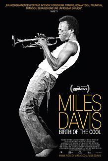 "Filmplakat für ""MILES DAVIS: BIRTH OF THE COOL"""