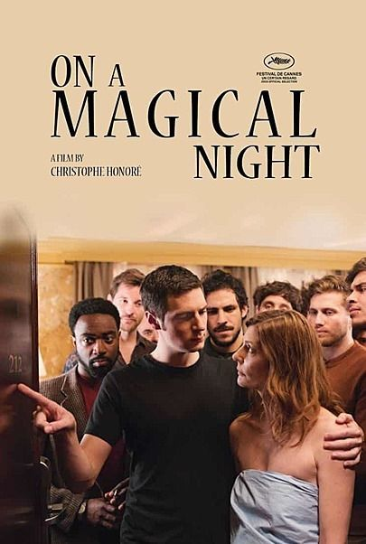 "Movie poster for ""ON A MAGICAL NIGHT"""