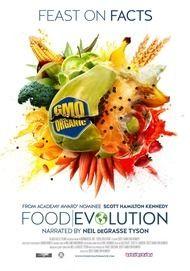 "Movie poster for ""FOOD EVOLUTION"""