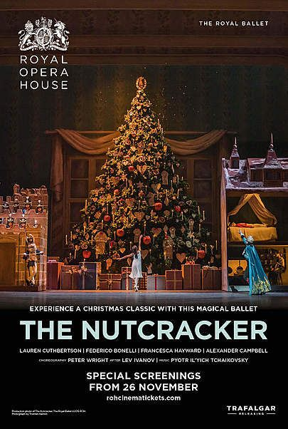 "Movie poster for ""THE NUTCRACKER - The Royal Opera House 2019-20"""