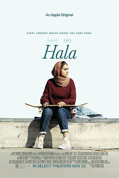 """Movie poster for """"HALA"""""""