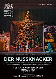 """Filmplakat für """"DER NUSSKNACKER (ROYAL OPERA HOUSE 2019/20) - Aufzeichnung aus 2016"""""""