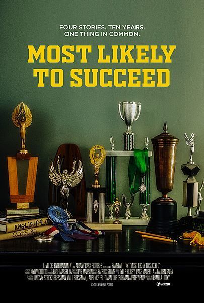 "Movie poster for ""MOST LIKELY TO SUCCEED"""