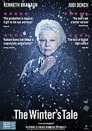 "Movie poster for ""BRANAGH THEATRE LIVE: THE WINTER'S TALE"""