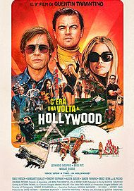 "Movie poster for ""C'ERA UNA VOLTA... A HOLLYWOOD"""