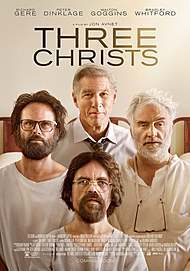 """Movie poster for """"THREE CHRISTS"""""""