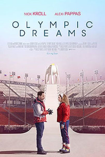 """Movie poster for """"OLYMPIC DREAMS"""""""