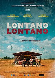 "Movie poster for ""LONTANO LONTANO"""