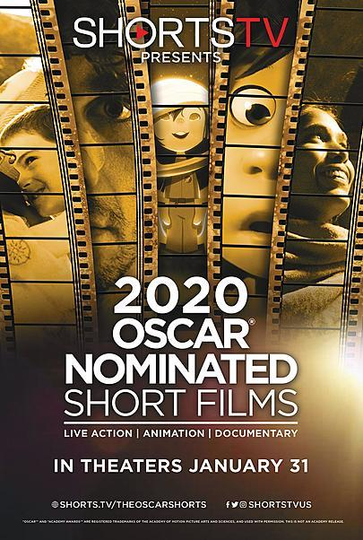 "Movie poster for ""2020 OSCAR SHORTS"""