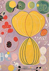 "Movie poster for ""BEYOND THE VISIBLE - HILMA AF KLINT"""