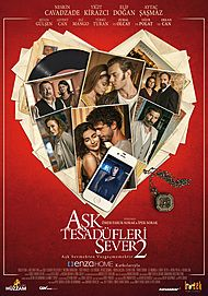 "Movie poster for ""ASK TESADÜFLERI SEVER 2"""