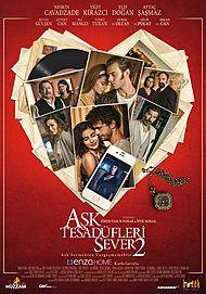 "Filmplakat für ""ASK TESADÜFLERI SEVER 2"""