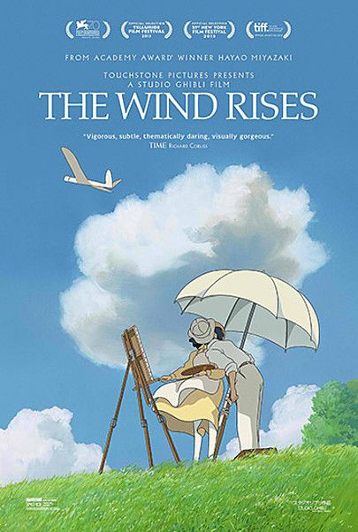 """Movie poster for """"THE WIND RISES"""""""