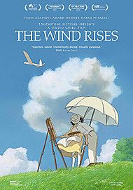 "Movie poster for ""THE WIND RISES"""
