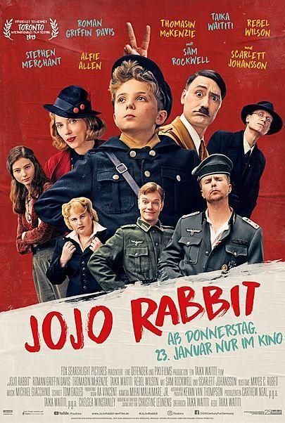 "Filmplakat für ""JOJO RABBIT"""
