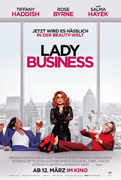 "Movie poster for ""LIKE A BOSS"""