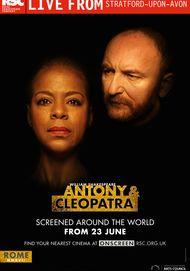 """Movie poster for """"ANTONY & CLEOPATRA - Royal Shakespeare Company Live"""""""