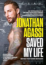 """Movie poster for """"JONATHAN AGASSI SAVED MY LIFE"""""""
