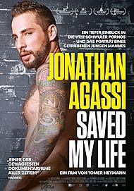 """Filmplakat für """"JONATHAN AGASSI SAVED MY LIFE"""""""