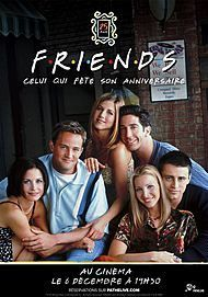 """Movie poster for """"FRIENDS 25TH: THE ONE WITH THE ANNIVERSARY"""""""
