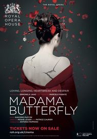 "Movie poster for ""MADAMA BUTTERFLY - Royal Opera House"""