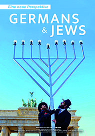 """Filmplakat für """"GERMANS AND JEWS - EINE NEUE PERSPEKTIVE"""""""