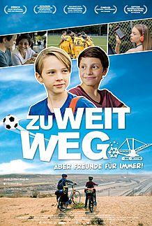 """Movie poster for """"ZU WEIT WEG"""""""