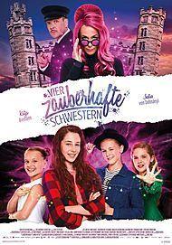 "Movie poster for ""Sprite Sisters - Vier zauberhafte Schwestern"""