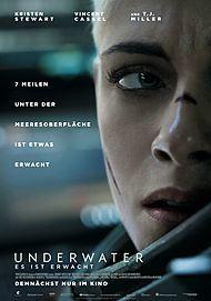"""Filmplakat für """"UNDERWATER"""""""