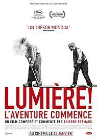 "Movie poster for ""LUMIERE, L'AVENTURE CONTINUE"""