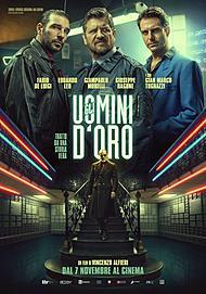 "Movie poster for ""GLI UOMINI D'ORO"""