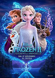 "Movie poster for ""FROZEN 2: IL SEGRETO DI ARENDELLE"""