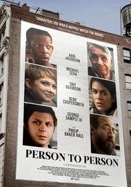 "Movie poster for ""PERSON TO PERSON"""