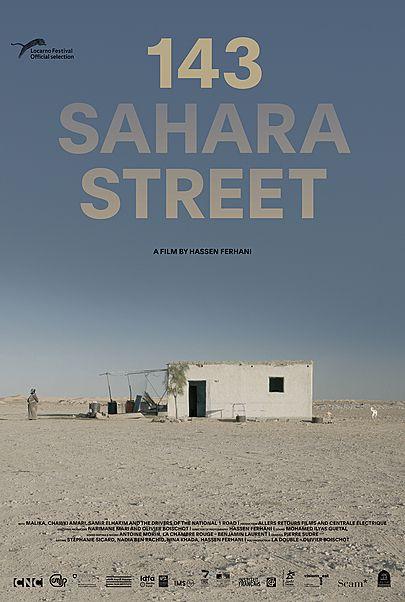 "Movie poster for ""143 SAHARA STREET"""