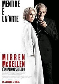 """Movie poster for """"L'INGANNO PERFETTO (THE GOOD LIAR)"""""""