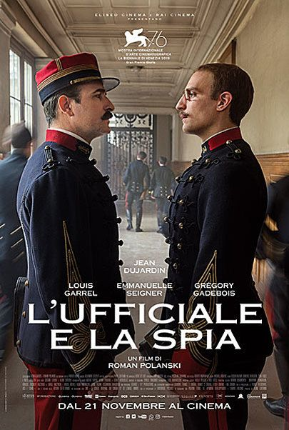 """Movie poster for """"AN OFFICER AND A SPY"""""""