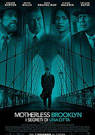 "Movie poster for ""MOTHERLESS BROOKLYN"""