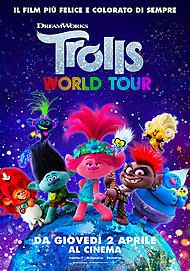 """Movie poster for """"TROLLS WORLD TOUR"""""""