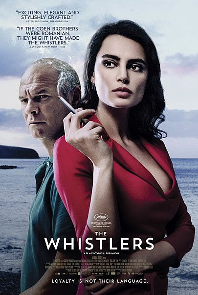 """Movie poster for """"THE WHISTLERS"""""""