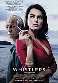 "Movie poster for ""THE WHISTLERS"""