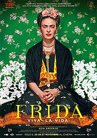 "Movie poster for ""FRIDA"""