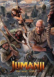 "Movie poster for ""JUMANJI: THE NEXT LEVEL"""