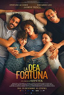 "Movie poster for ""LA DEA FORTUNA"""