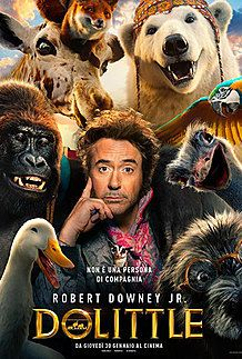 "Movie poster for ""DOLITTLE"""