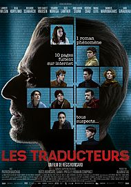 "Movie poster for ""LES TRADUCTEURS"""